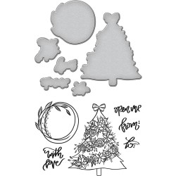 Tree Stamp & Die Template Set Spellbinders