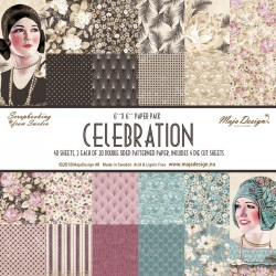 "Celebration Paper Pack 6""x6"" Maja Design"