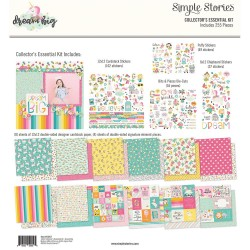 "Dream Big Collector's Essential Collection Kit 12""x12"" Simple Stories"