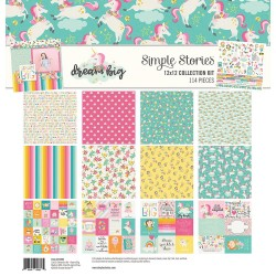 "Dream Big Collection Kit 12""x12"" Simple Stories"