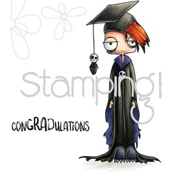 Oddball Boy Graduate The Oddball Collection Cling Stamps Stamping Bella