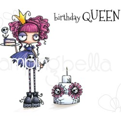 Oddball Birthday Queen The Oddball Collection Cling Stamps Stamping Bella