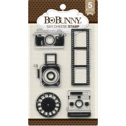Say Cheese Clear Stamp Set Bo Bunny