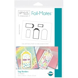 Label Borders Therm o Web Foil-Mates Gina K. Designs