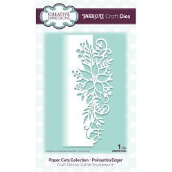 Poinsettia Edger Paper Cuts Edger Craft Dies Creative Expressions