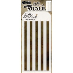 Shifter Stripes Tim Holtz Layering Stencil