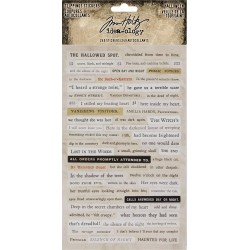 Halloween Clipping Stickers Idea-ology by Tim Holtz
