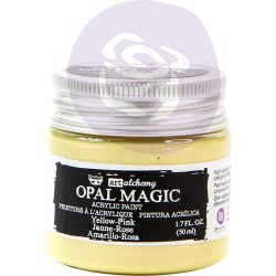 Yellow-Pink Opal Magic Acrylic Paint Art Alchemy by Finnabair Prima Marketing