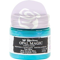 Teal-Blue Opal Magic Acrylic Paint Art Alchemy by Finnabair Prima Marketing