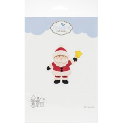 Santa Claus Craft Metal Die Elizabeth Craft Designs 0