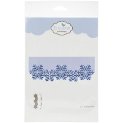 Snowflake Border Craft Metal Die Elizabeth Craft Designs 0