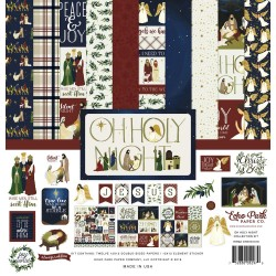 "OH Holy Night Collection Kit 12""x12"" Echo Park"