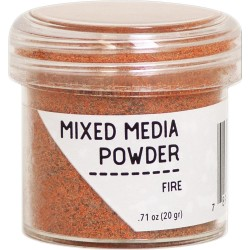 Fire Mixed Media Powder Ranger
