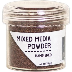 Hammered Mixed Media Powder Ranger