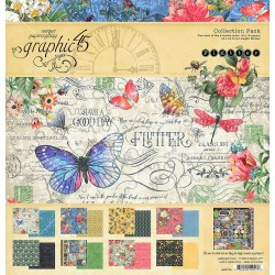 "Flutter Collection Pack 12""x12"" Graphic45"