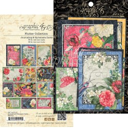"Flutter Journaling & Ephemera Cards 12""x12"" Graphic45"