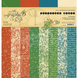 """Christmas Magic Patterns & Solids 12""""x12"""" Graphic45"""