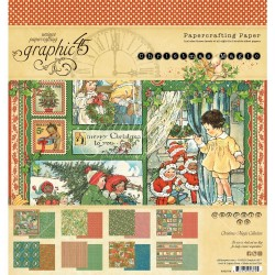 """Christmas Magic Papercrafting Paper 8""""x8"""" Graphic45"""