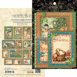 "Christmas Magic Journaling & Ephemera Cards 12""x12"" Graphic45"