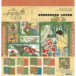 "Christmas Magic Collection Pack 12""x12"" Graphic45"