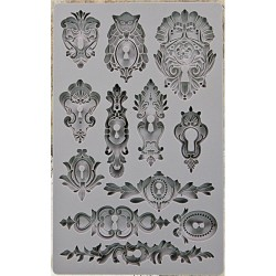 Keyholes IOD Vintage Art Decor Moulds Prima Marketing