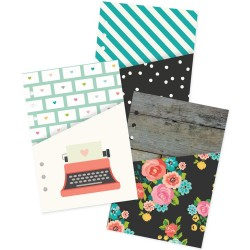 Pocket Inserts Planner Pockets A5 Double-Sided Carpe Diem Simple Stories