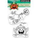 Frog o' Lantern Clear Stamps Penny Black