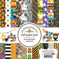 "Pumpkin Party Paper Pad 6""x6"" Doodlebug"
