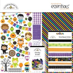 "Pumpkin Party Essential Page Kit 12""x12"" Doodlebug"