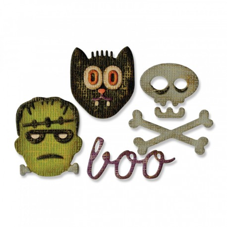 Halloween Sidekick Side-Order Set By Tim Holtz Sizzix