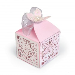 Butterfly Favor Box Thinlits Dies Sizzix