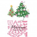 Christmas Tree Collectables Dies Marianne Design