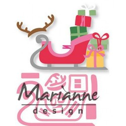 Sleigh Collectables Dies Marianne Design