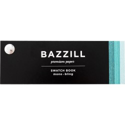 Bazzill Swatch Book Card Mono Bling