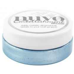 Cornflower Blue Embellishment Mousse Nuvo Tonic Studios