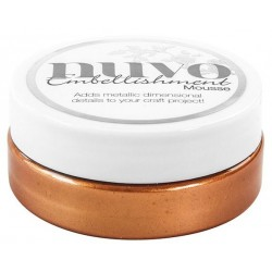Fresh Copper Embellishment Mousse Nuvo Tonic Studios