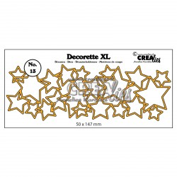 Die no.13 Interlocking Stars Set Cutting Die n.13 Crealies