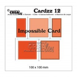 Die no.12 Impossible Card Set Cutting Die n.12 Crealies