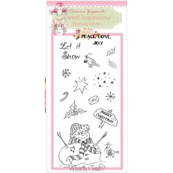 Let It Snow Clear Stamps Set by Rosanna Zuppardo Sweet Inspirations