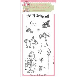 Hello Santa Clear Stamps Set by Rosanna Zuppardo Sweet Inspirations