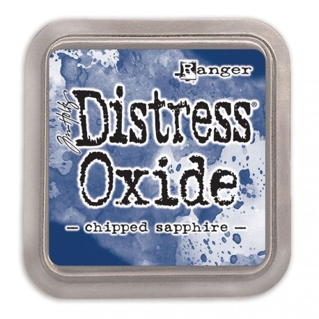 Chipped Sapphire Distress Oxide Ink Pad Tim Holtz