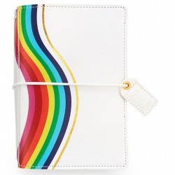 "Rainbow Color Crush Pocket Traveler's Notebook 4,25""x6"" Webster's Pages"