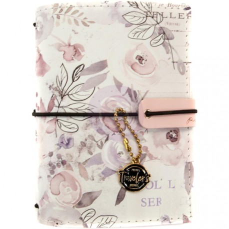 "Lavender Frost Prima Traveler's Journal Passport Size 4,2""x5,3"" Prima Marketing"