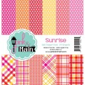 """Sunrise Double-Sided Paper Pad 6""""x6"""" Pink & Main"""