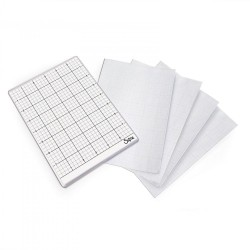 "Sticky Grid Sheets x Big Shot 6""x8,5"" 5 Pkg Sizzix"