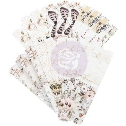 Lavender Frost Die-Cut Paper Tickets Prima Marketing