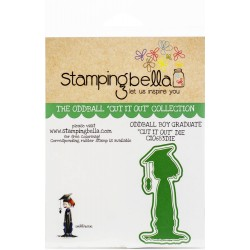 "Oddball Boy Graduate ""Cut It Out"" Die Stamping Bella"