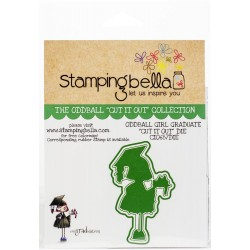 "Oddball Girl Graduate ""Cut It Out"" Die Stamping Bella"