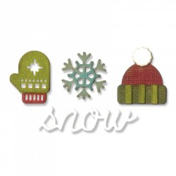Winter Sidekick Side-Order Set By Tim Holtz Sizzix