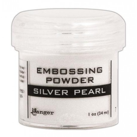 Silver Pearl Embossing Powder Ranger